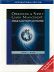 Operations & Supply Chain Management: World Class Theory and Practice